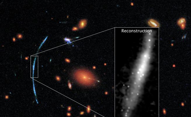 Астрономи откриха галактики като космически