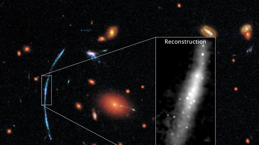 """Астрономи откриха галактики като космически """"фойерверки"""""""