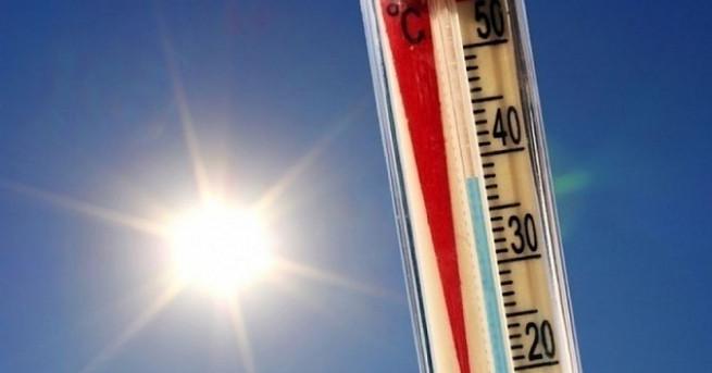 Жълт код за високи температури е обявен за 17 области