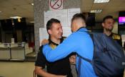 Топла среща между Левски и Ботев<strong> източник: Gong.bg, Валентин Грънчаров</strong>