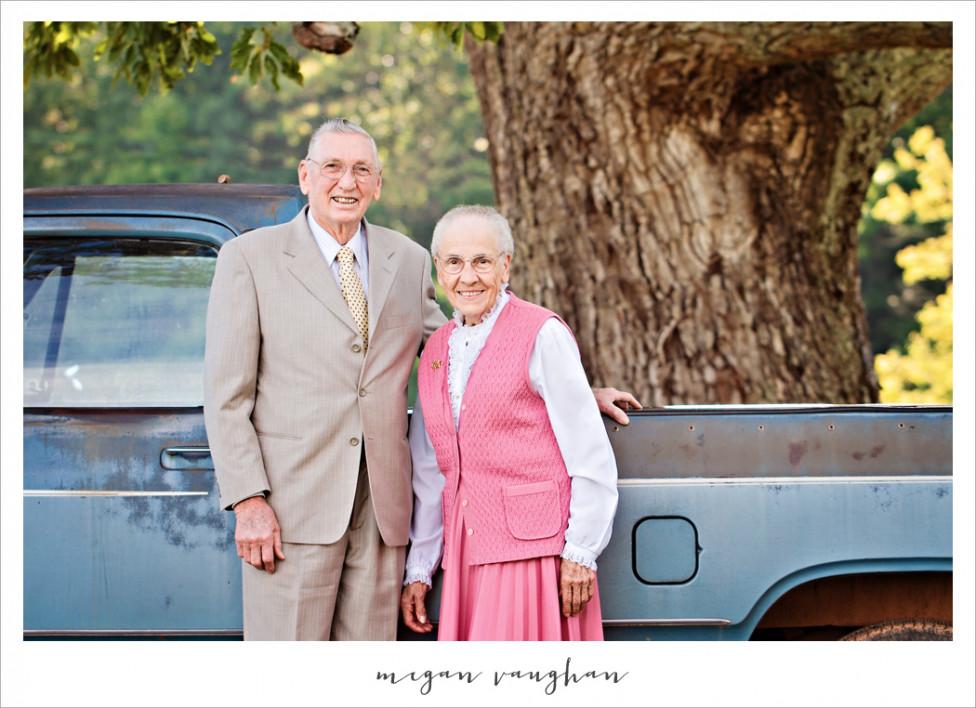 - Руби и Херълд във фотосесия за 60-годишнината от брака им.