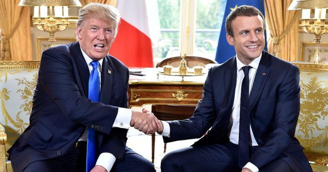 Френският президент Франсоа Макрон заявява в интервю, че се надява