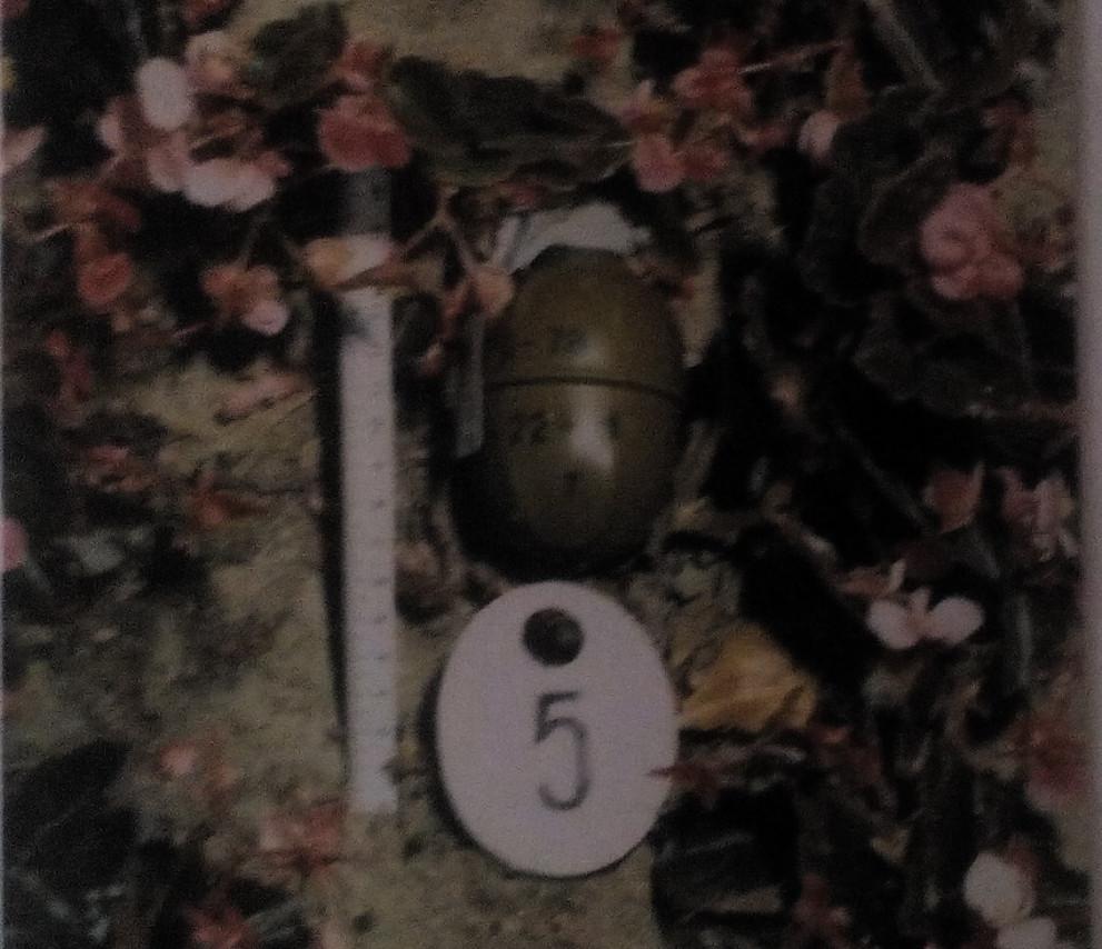 Една от гранатите, които терористите хвърлят на Златни пясъци и раняват случайни минувачи