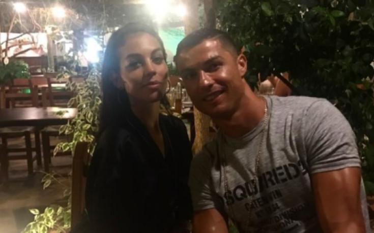 Роналдо получи прекрасен жест от любимата си жена
