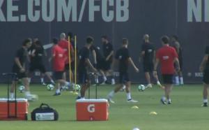 Ново попълнение се включи към тренировките на Барселона