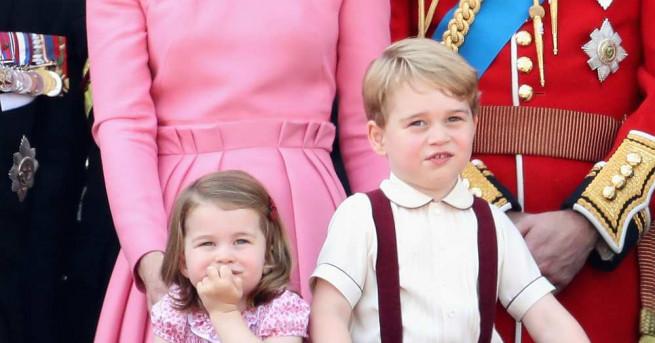 Принц Джордж навършва днес четири години.  Guliver/Getty Images, архив