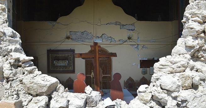 След мощното земетресение от 6,7 по Рихтер в Гърция хората