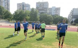 Александър Александров готов за мача с Дунав