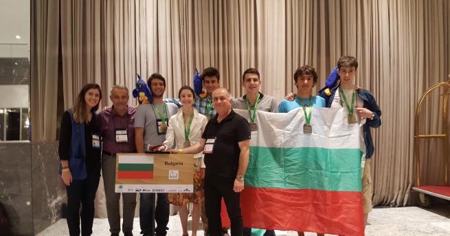 Голям успех за нашите ученици на Международни олимпиади по математика