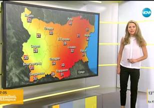 Прогноза за времето (26.07.2017 - сутрешна)