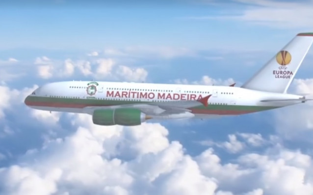 Самолет на Маритимо