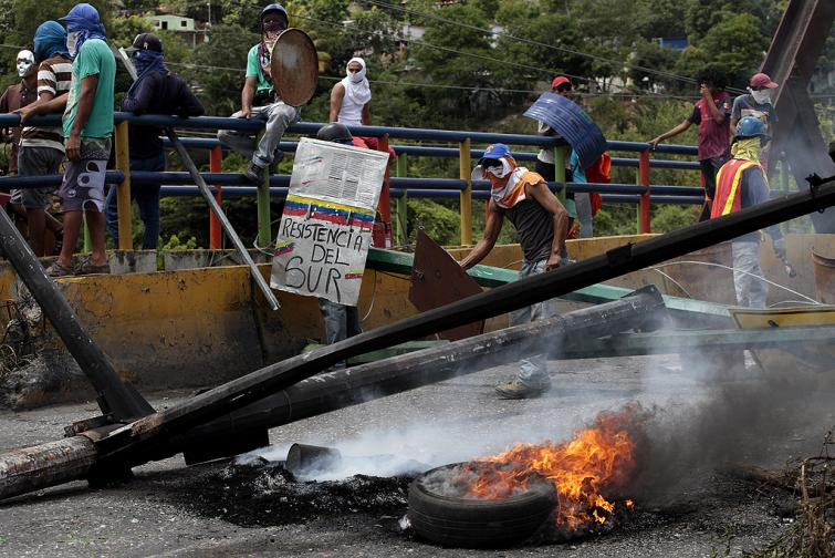 венецуела протести