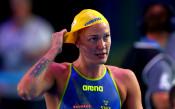 Сара Шьострьом с трето злато от Световното по плуване