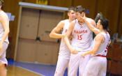 Константин Костадинов с екипа на България<strong> източник: facebook.com/basketballfederation/</strong>