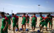 Български национален отбор по плажен футбол<strong> източник: .facebook.com/BulgarianNationalTeam</strong>