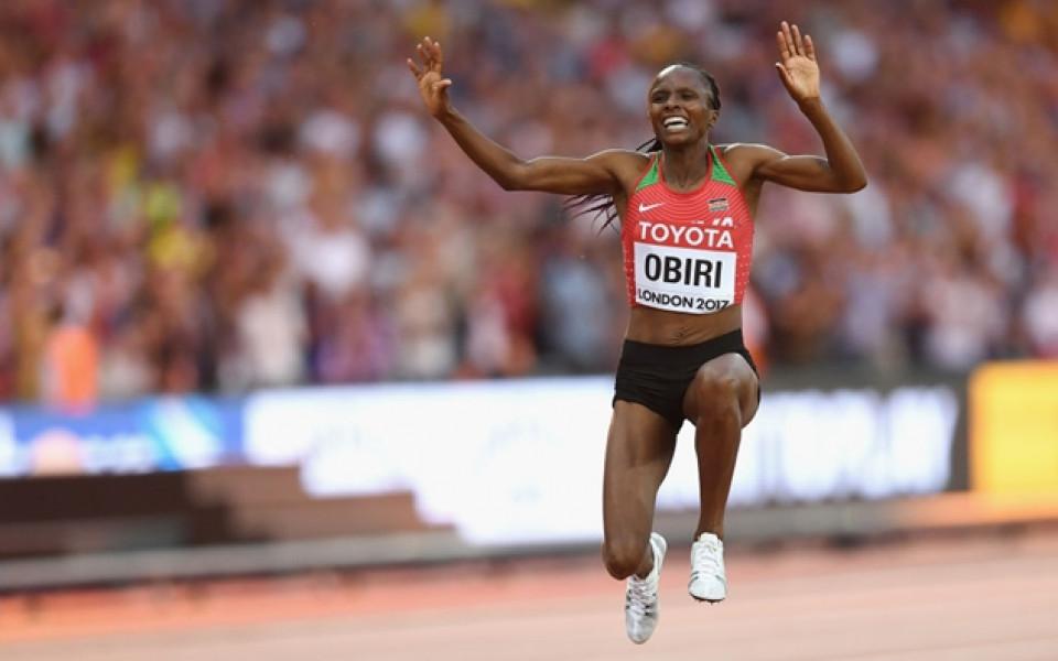 Хелън Обири грабна титлата на 5000 метра на Световното в Лондон