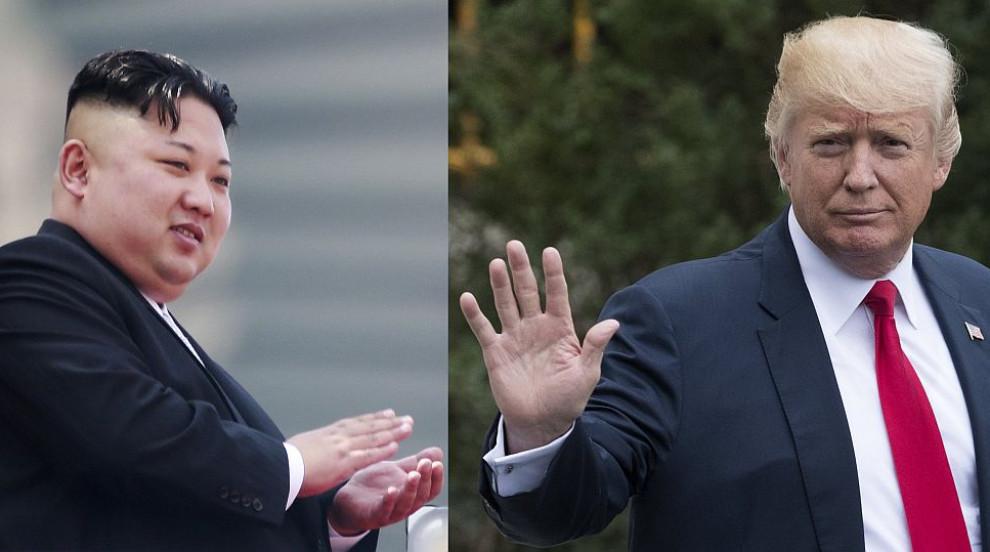 Белият дом изсякъл монети с образите на Тръмп и Ким Чен-ун (СНИМКА)