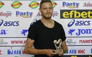 Номер 1 на кръга Яблонски за новите в Левски и тежките тренировки