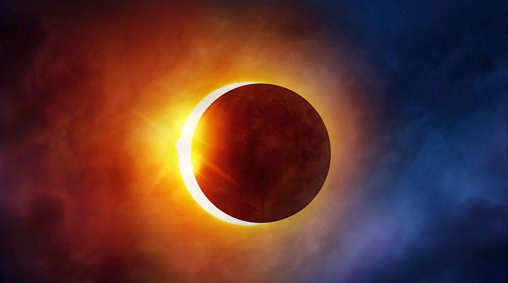 Първо пълно слънчево затъмнение в САЩ от 99 години