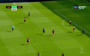 Ливърпул - Кристъл Палас 0:0 /първо полувреме/
