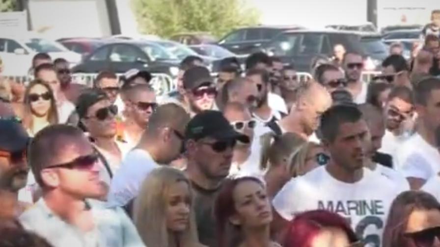 """Стотици на протест срещу Симеонов, недоволни и на """"Корал"""""""