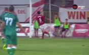 Рубен Пинто направи 5:1 за ЦСКА срещу Витоша