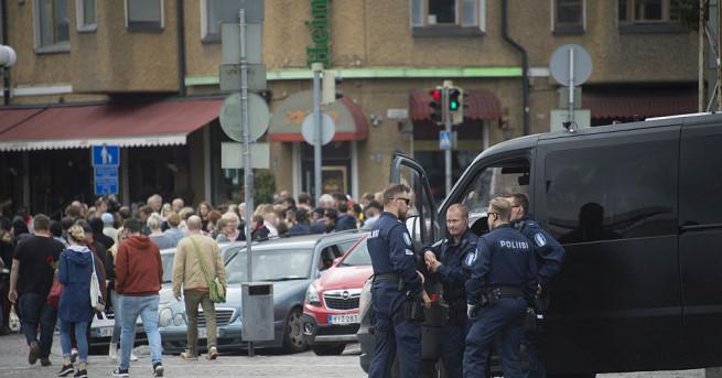 Заподозреният за нападението с нож във финландския град Турку бе