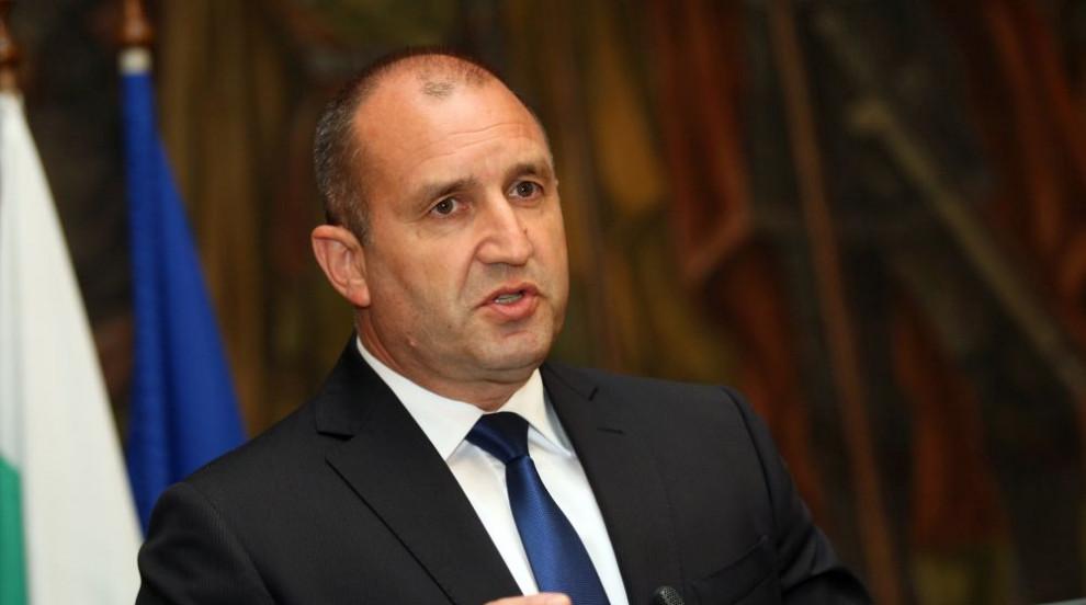 Румен Радев: Борбата с корупцията трябва да се води безкомпромисно