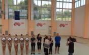 Ансамбъл по художествена гимнастика<strong> източник: facebook.com/BulgarianRhythmicGymastic</strong>