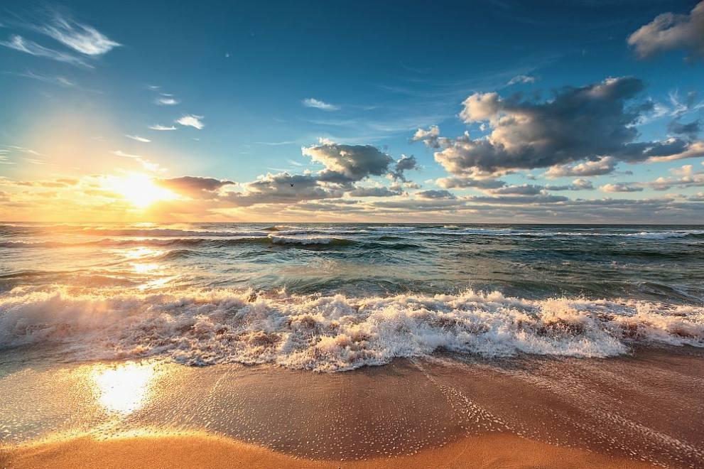 слънце море
