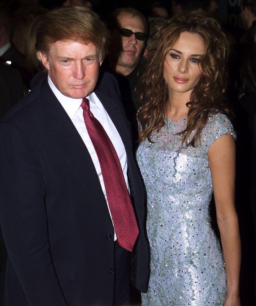 Доналд и Мелания Тръмп през 2000 година