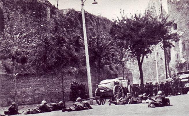 Окупацията на Рим, септември 1943 г.
