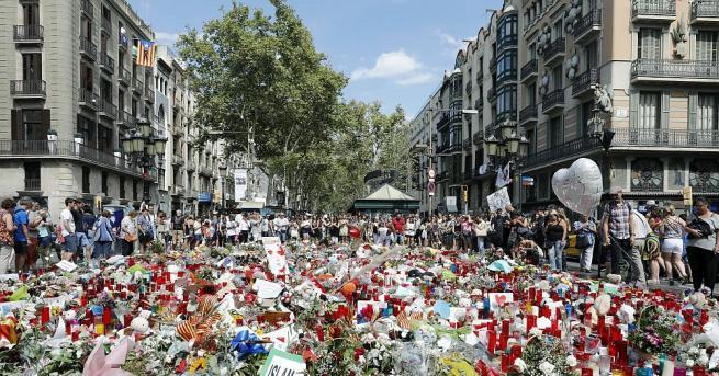 Каталунските власти разпространиха нови кадри от охранителни камери на нападението