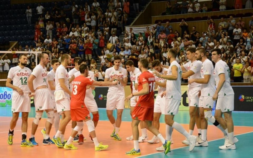 Волейболистите в битка със Словения довечера