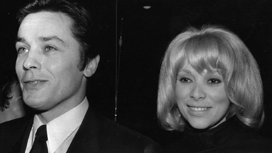 Мирей Дарк и Ален Делон (1970 г.)