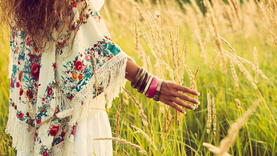 жена природа лято
