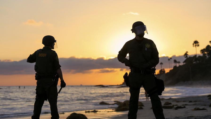Американски полицаи (архив)