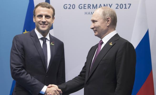 Макрон към Путин: Няма да ти се размине