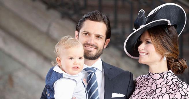 Шведският принц Карл Филип и съпругата му принцеса София станаха