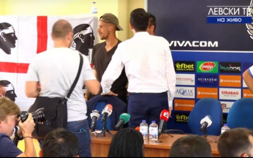 Каляри пожела успех на Роси в Левски преди детски турнир
