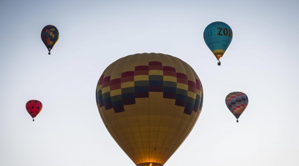 Балони с горещ въздух полетяха в небето над Умбрия (ВИДЕО)