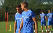 Ейолфсон и Белмонт с първа тренировка в Левски