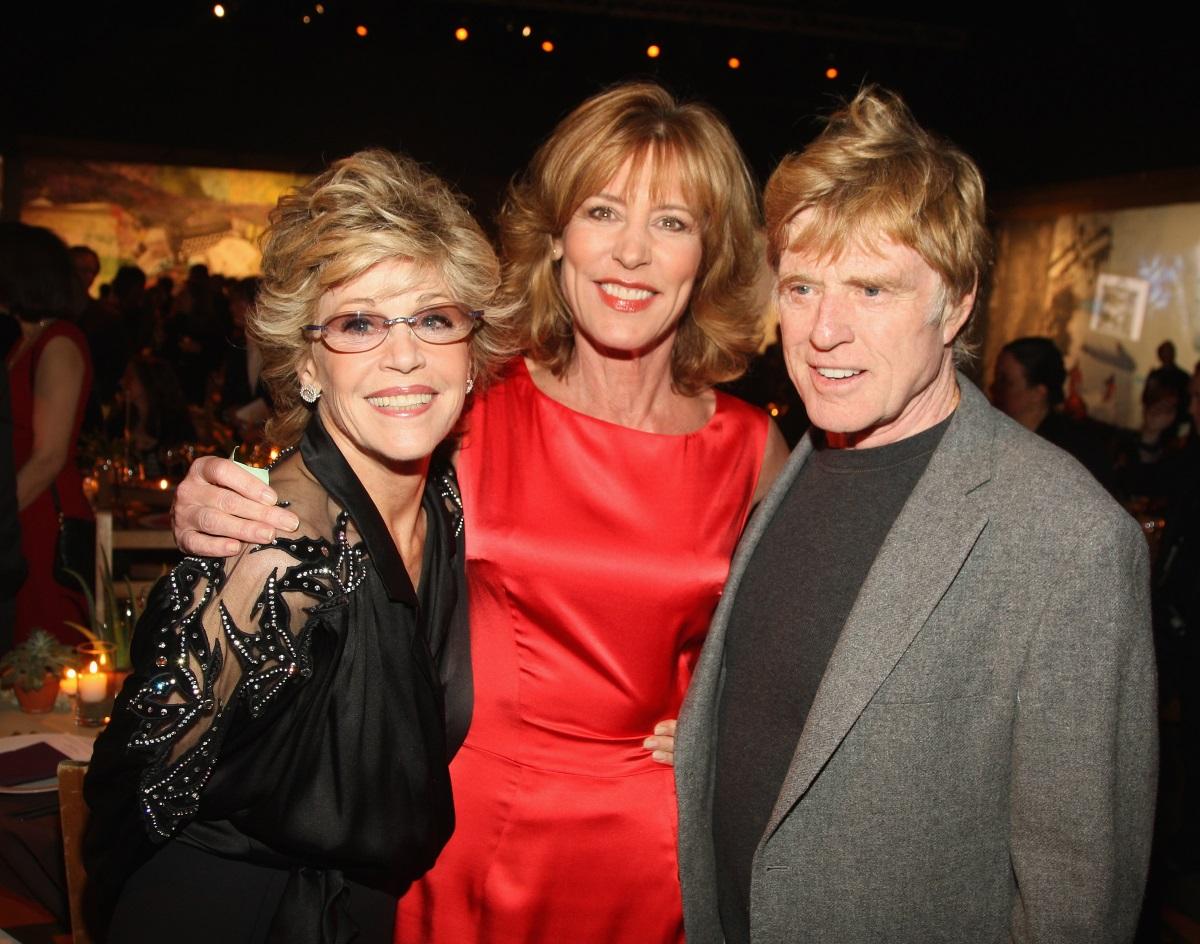 Робърт Редфорд и Джейн Фонда в Ню Йорк (2008 г.)