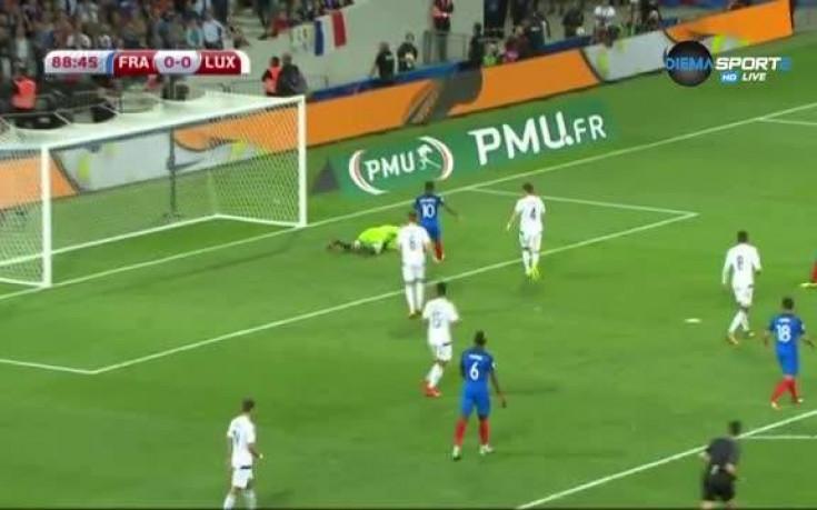 Франция - Люксембург 0:0 /репортаж/