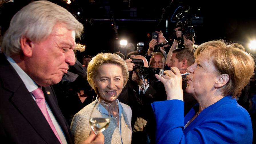 Меркел нокаутира опозицията в Германия