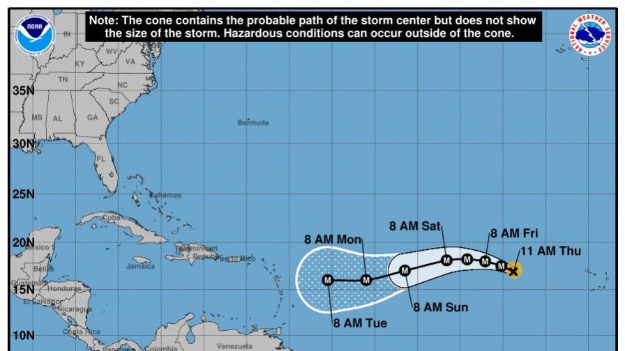 """След """"Харви"""" идва също толкова опасна буря - """"Ирма"""""""