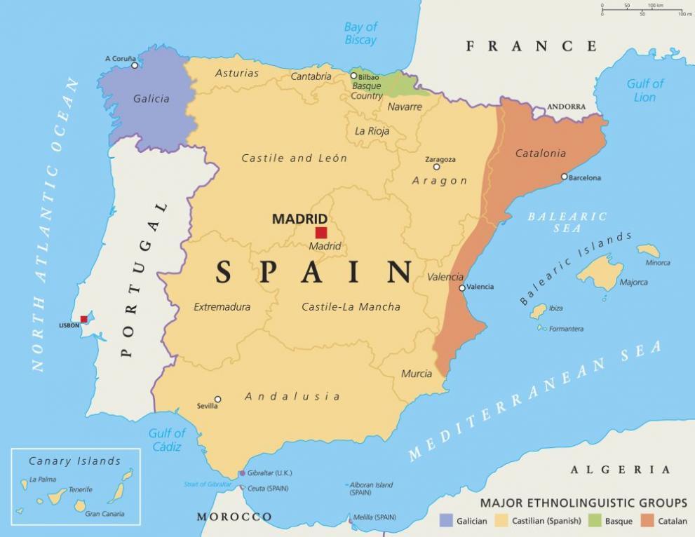 Kataluniya S Referendum Za Otcepvaneto Si Ot Ispaniya Svyat