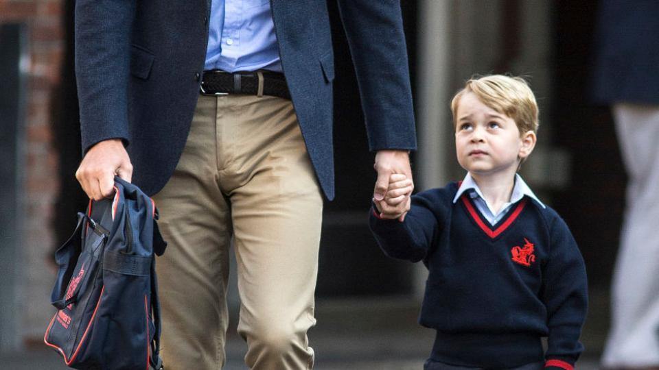 Принц Джордж изгонен от училище?