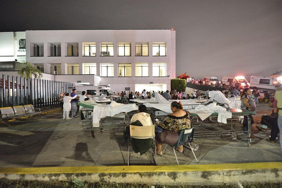 земетресение Мексико