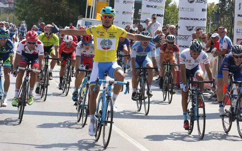 Украинец триумфира в Обиколката на България